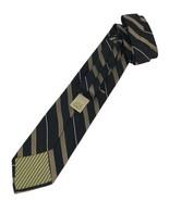 """JOE Joseph Abboud Silk Men's Tie Black, Gold 57"""" Designer Tie - $14.95"""