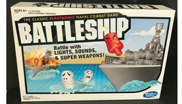 Electronic Battleship Classic Naval Combat Game with Lights, Sounds  ---OFFICE - $29.02