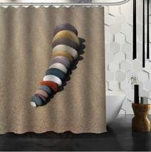Custom 25 Style Classic Zen Stone Bathroom Waterproof Shower Curtain Durable Cla - $31.87