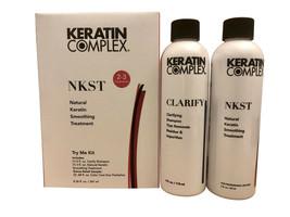 Keratin Complex Natural Keratin Smoothing Treatment Try Me Kit - $55.00
