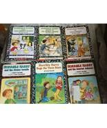 Horrible Harry book lot of 6 Suzy Kline Bugs 3 Bears Stolen Cookie Green... - $6.69