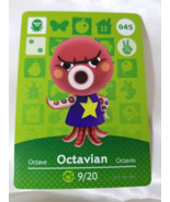 045 - Octavian - Series 1 Animal Crossing Villager Amiibo Card - $49.99