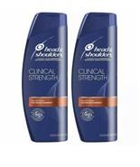 Lot Of 2 Head Shoulders Clinical Strength Anti Dandruff Shampoo Severe New - $26.99