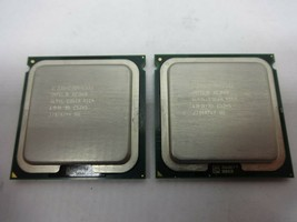 Lot of (2) Intel Xeon E5345 Quad-Core CPUs 2.33GHz 8MB Cache SL9YL - $15.00