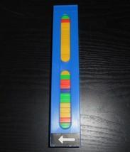 Vintage Pressman Domino Rallye Händler Blau Tower Einsatz mit / 30 Dominosteine - $13.33