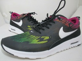 NIKE AIR MAX THEA BLACK MULTI COLOR WOMEN'S  ATHLETIC SHOES SIZE 10 - $39.00