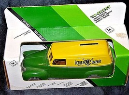 John Deere Coin Bank 1950 Chevy Panel Delivery Truck Bank U.S.A. AA18-JD0012 image 2