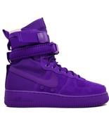 Nike Sf Af1 Air Force 1 One Hohe Stiefel Lila 864024-500 Us 4, 36 Eur, U... - $183.58
