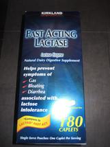Fast Acting Lactase Kirkland 180 caplets - $21.55
