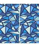 Curtains Geometric Triangle Print Backdrop 10705 - $38.09