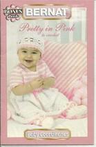 Bernat Pretty in Pink Bonus Book Crochet #542009 Pattern Leaflet - $10.75
