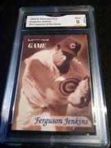 1998 fleer sports illustrated Ferguson Jenkins GMA Graded 9 MINT baseball 12 - $7.75