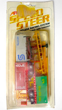 Wow 1981 Aurora Slot Car Trucking Overhead Crane 2 Trailers 3 Containers Ra Re - $247.49
