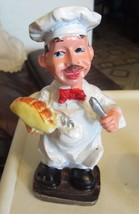 """Fat Chef Figure with BREAD & KNIFE, App. 6"""" tall, FREE SHIPPING - $10.88"""