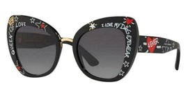 "NEW AUTHENTIC DOLCE & GABBANA 4319 BUTTERFLY ""QUEEN OF LOVE"" SUNGLASSES ... - $169.00"