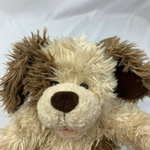 Build A Bear Scruffy Puppy Dog Cream Brown Floppy Ears Plush Stuffed Ani... - $19.35