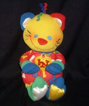 VINTAGE 1999 FISHER PRICE 71929 123 COUNT TALKING KITTY CAT STUFFED ANIM... - $27.70