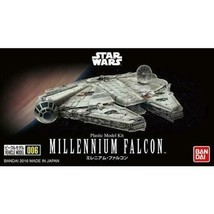 Bandai Hobby Star Wars Millenium Falcon 006 1/350 Scale Model Kit A New ... - $11.95