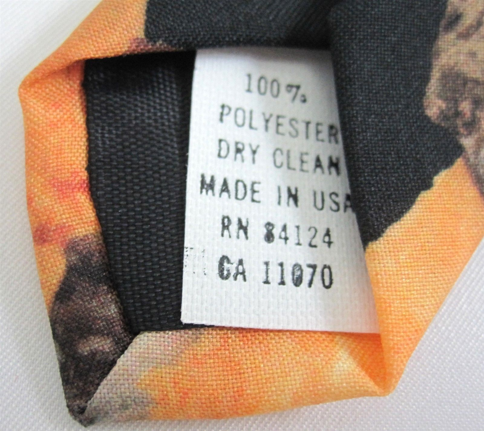Ice Cream Cone Necktie Neck Tie Ralph Marlin & Co. 151139 Made in USA 1997