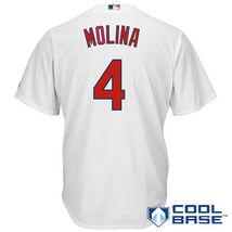Yadier Molina St Louis Cardinals 2017 Home Cool Base Men Jersey - $49.99