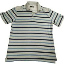 Callaway Golf M Opti-Dri Striped Short Sleeve Polo - $14.84