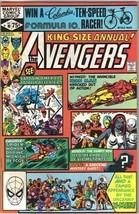 The Avengers King-Size Annual Comic Book #10 Marvel 1981 VF/NEAR MINT NE... - $193.40