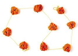 "CraftMore Fall Yarn Pumpkin Garland 60"" image 2"