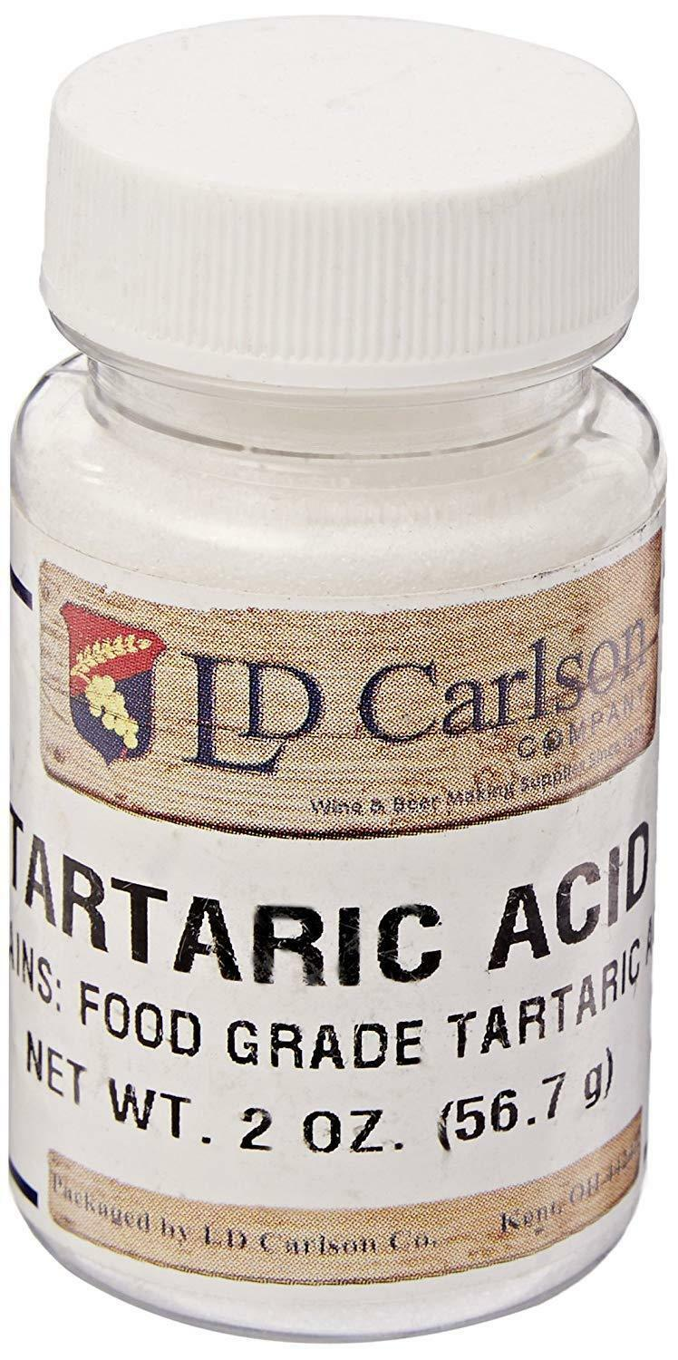 Primary image for NATURAL GRAPE TARTARIC ACID 2oz BOTTLE DISTILLERIE MAZZARI Packed by LD Carlson