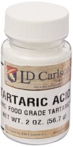 NATURAL GRAPE TARTARIC ACID 2oz BOTTLE DISTILLERIE MAZZARI Packed by LD ... - $5.89