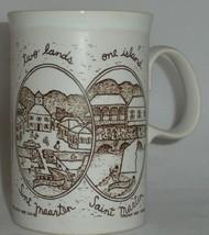 Town Scenes Saint Martin Sint Maarten Two Lands One Island Mug Dunoon Sc... - $22.77