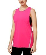 Jessica Simpson The Warm Up Juniors' Layered Sports Bra Tank Top, SIZE XL - $24.00