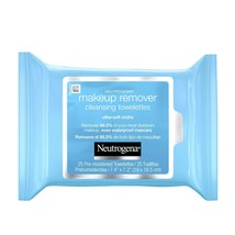 Neutrogena Makeup Remover Cleansing Towelettes & Face Wipes, 25 ct.. - $16.82