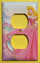 Princess Sleeping Beauty Castle Light Switch Power Outlet wall Cover Plate Decor image 2