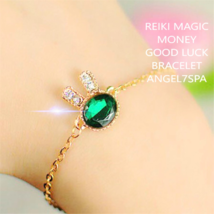Magic Reiki  Bring Money, good luck  Moon Necklace  spellbound  - $19.99