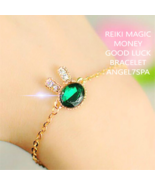 Magic Reiki  Bring Money, good luck  Moon Necklace  spellbound  - $22.39