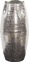 Vase Howard Elliott Pinched Top Large Bright Silver - $149.00