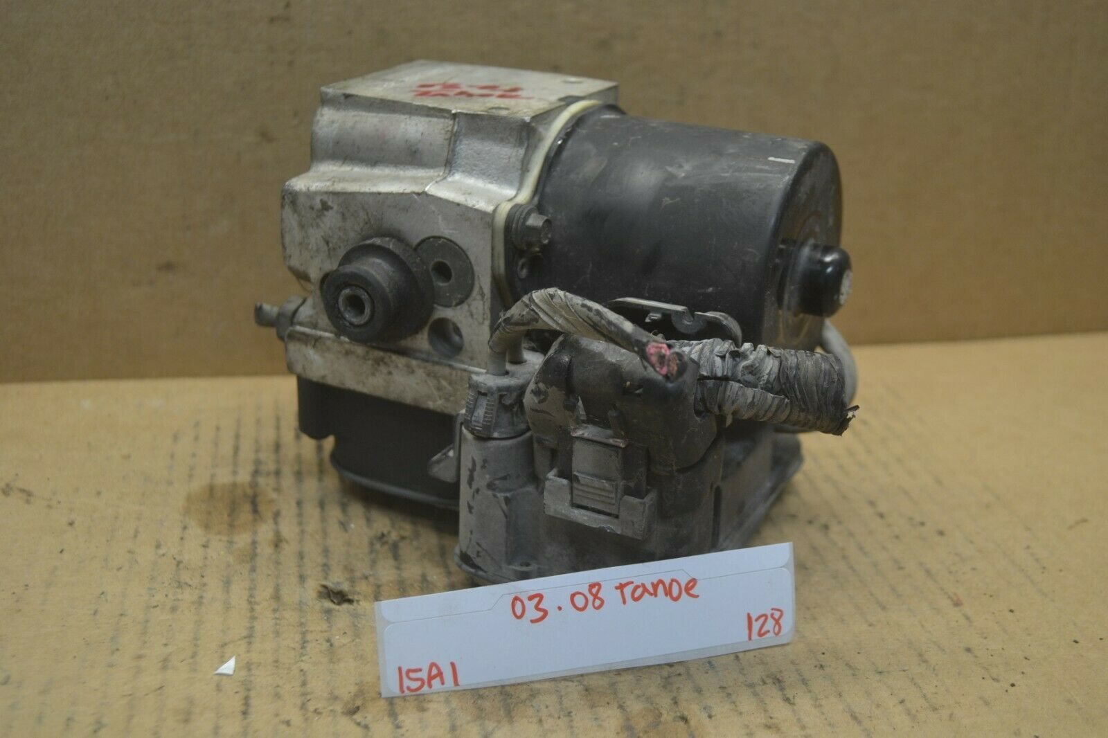 Primary image for 03-06 Chevrolet Tahoe ABS Pump Control OEM 13354736 Module 128-15a1