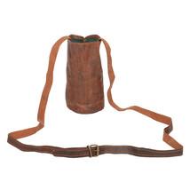 "E-Tailor ""Hunter"" Handmade Genuine Leather Classic Vintage Brown Wine & ... - $52.34"