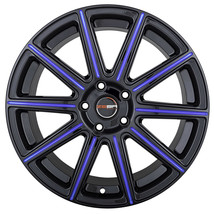 4 MOD 18 inch Black Blue Mill Rims fits FORD EDGE 2007 - 2014 - $649.99