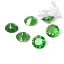 Natural Chrome Tourmaline 4mm Round Cut 2 Pieces Top Quality Loose Gemstone - $18.80
