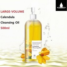 US LOHA LARGE-VOLUME Calendula Cleansing Oil 500ml Moisturizing Deep Cle... - $34.22