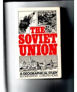 The Soviet Union, a Geographical Study by G. Melvyn Howe - FREE SHIPPING - $10.00
