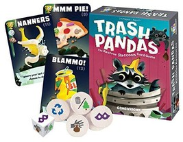 Gamewright  Trash Pandas - The Raucous Raccoon Card Game - 252 - $10.80