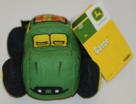 John Deere LP64417 Plush Toy Gator With Plastic Attachment Clip image 1