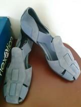 Flexation By Aerosoles Filmore Sandals Shoes Solid Blue Womens Sz 8.5 M ... - $29.65
