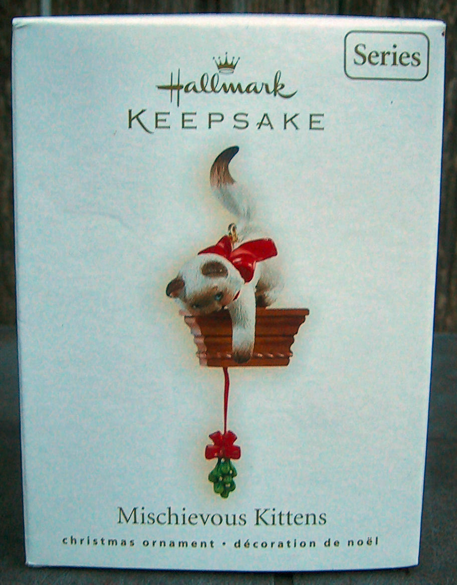 Hallmark Mischievous Kittens 11th in Series