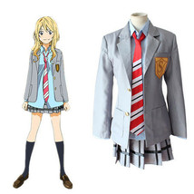 Sale ! Your Lie In April Kaori Miyazono Uniform Cosplay Costume - $56.80
