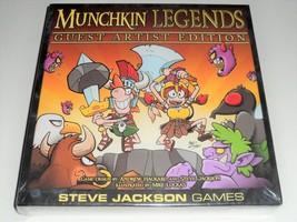 MUNCHKIN LEGENDS GUEST ARTIST EDITION STEVE JACKSON GAMES LIMITED DELUXE... - $29.99