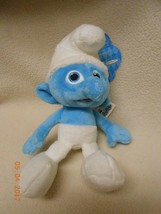 "NEW all kids Smurfs Plush DOLL FIGURE CLUMSY 8""  Kids Easter basket Gift - $5.93"