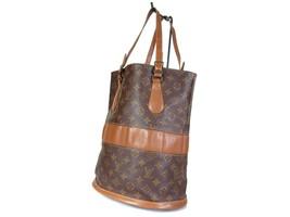 Auth LOUIS VUITTON Vintage Bucket Monogram Tote Bag Shoulder Bag Purse LP2186 - $239.00